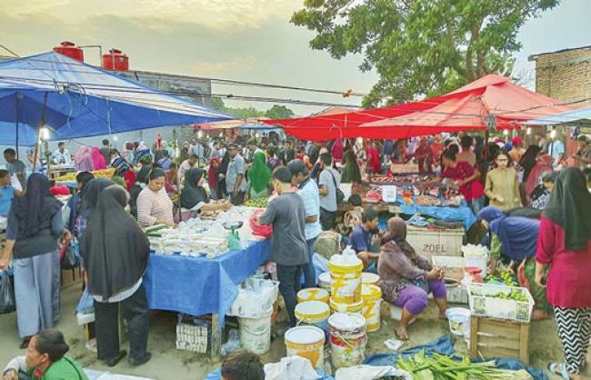 Cegah Covid-19, Pemko Pekanbaru akan Tutup Pasar Kaget