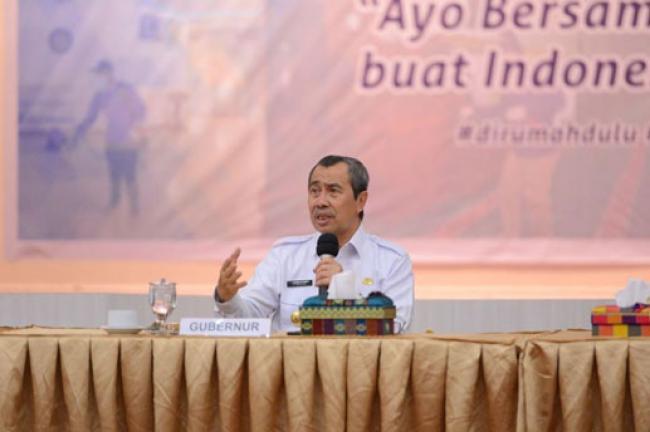 Persiapan Gubri Terkait Pemulangan WNI Dari Malaysia Melalui Dumai