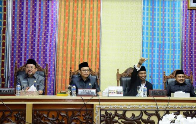 Paripurna DPRD Kabupaten Bengkalis Bahas Tatib Dan Tiga Ranperda Tahun 2020