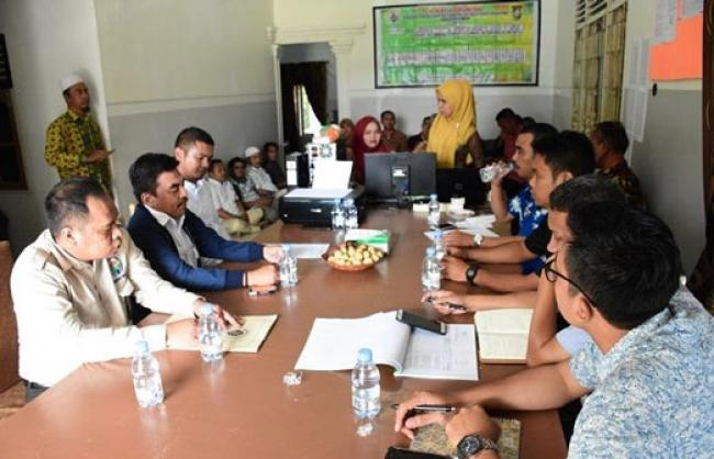 Sukses Kelola Dana Desa, Irjen Inspektorat Kemendes Tinjau Koto Tibun Kampar