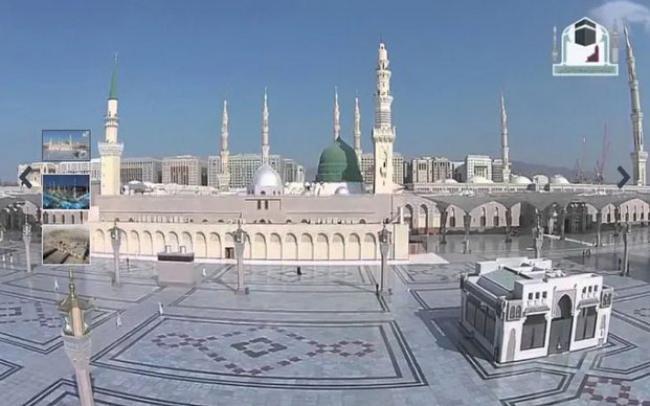 Tangis Pilu Imam Masjid Nabawi ketika Sholat Jumat Terakhir di Tengah Corona
