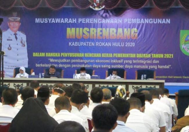Musrenbang 2020 Pemkab Rohul Fokuskan 5 Program Prioritas