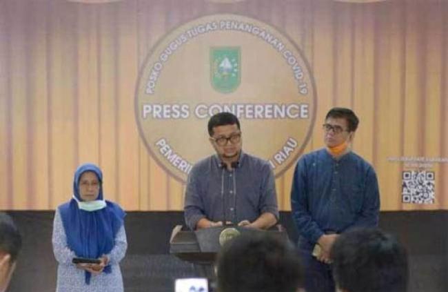 Bertambah 1,  Kasus Positif Covid 19 di Riau Jadi 3 Orang