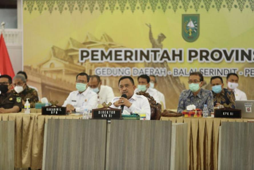 KPK Bantu Tuntaskan Masalah Pasar Cik Puan Pekanbaru