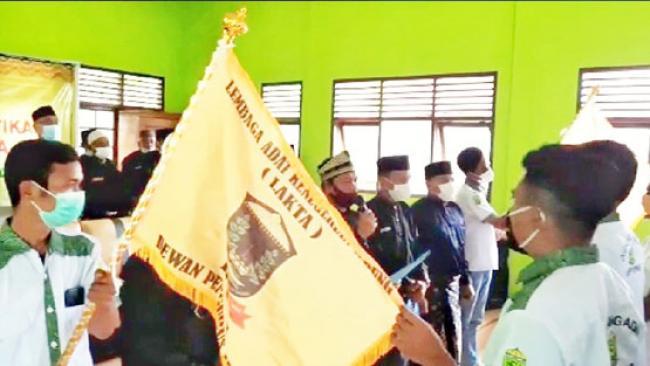Dubalang Adat Lakta Resmi Dikukuhkan, Akan Rekrut 1000 Pasukan di Tapung