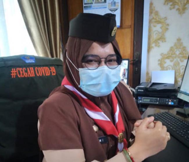 Camat Rumbai Barat Buka Musyawarah DKR Pramuka Pandega