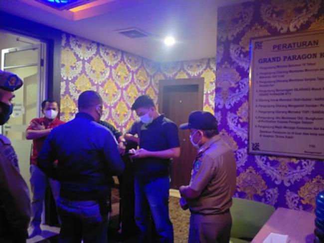 Sambut Ramadhan, Camat Tebing Tinggi Berikan Imbauan di Tempat Hiburan Malam dan Hotel