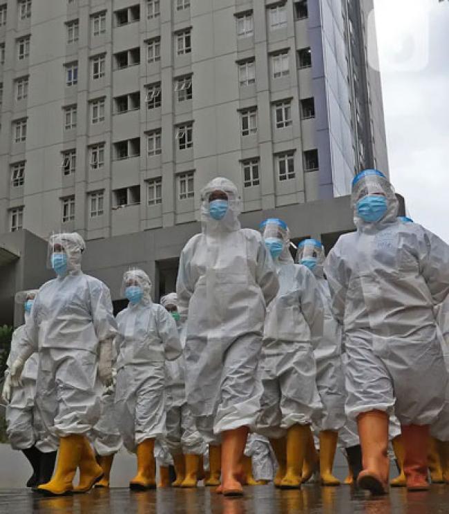 Setahun Indonesia Melawan Pandemi Covid-19, 718 Nakes Gugur