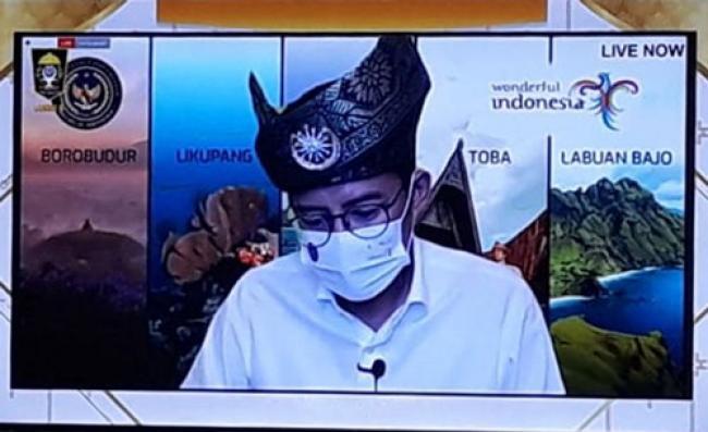 Sandiaga Uno Dukung Pembangunan Pariwisata dan Ekraf Riau