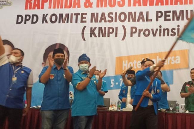 Fuad Santoso Secara Aklamasi di Musda Ke XIV Pimpin KNPI Riau