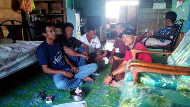 Perusahaan Kabur, Puluhan Pekerja Proyek Jalan di Kepulauan Meranti Terlantar