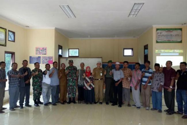 Sosialisasi TMMD Ke-102 Di Kampung Baru Oleh Kodim 0320/Dumai