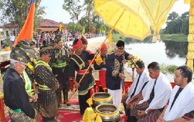 Mandi Balimau Sultan di Kecamatan Pelalawan Digelar 9 Mei Mendatang