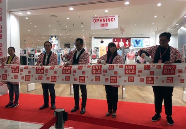 Dari Tokyo ke Pekanbaru, UNIQLO Resmi Buka Toko Pertama di Living World
