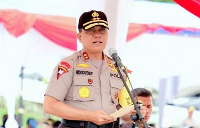 Kapolda Riau akan Tindak Anggota yang Tidak Netral dalam Pemilu