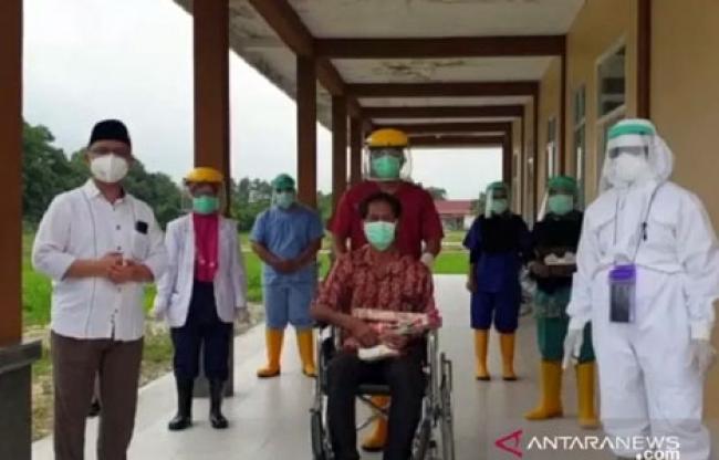 Satu Pasien Positif COVID-19 di Siak Dinyatakan Sembuh