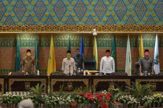 DPRD Riau-Pemprov Bahas Pergeseran Anggaran 2020