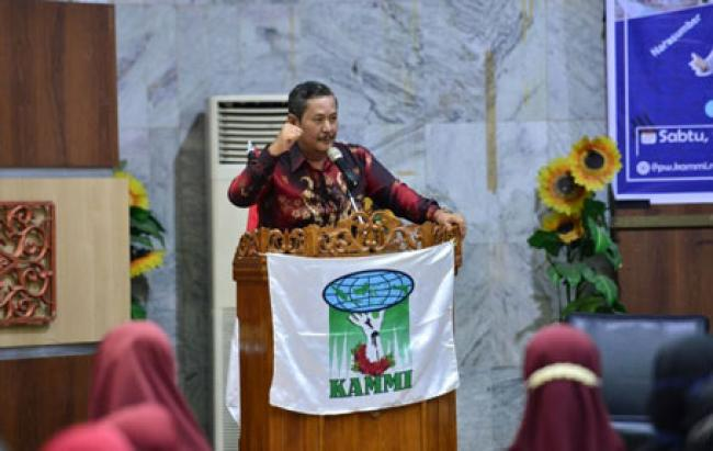 Asisten I Setdaprov Riau Buka Milad KAMMI ke-23
