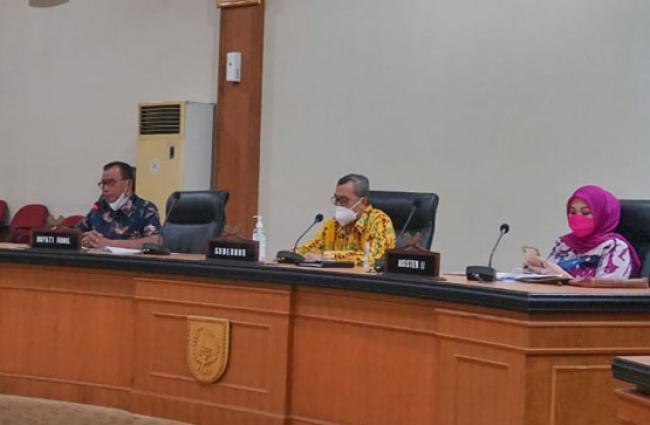 Bupati Suyatno: Rohil Siap Ditunjuk Jadi Lokasi Pengembangan Food Estate