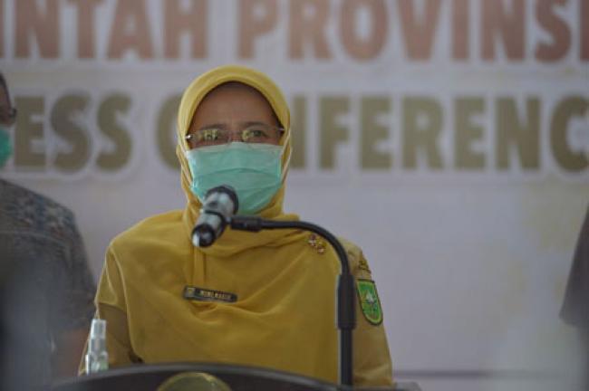 Bertambah 269 Orang, Covid-19 Riau Terpantau Menurun, Ada Penambahan 12 Kasus Meninggal