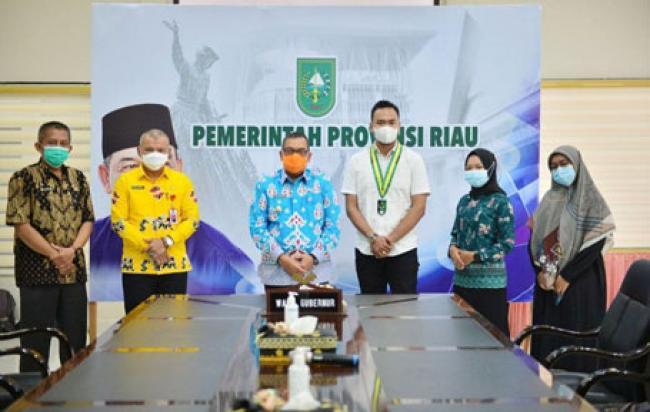 Wagubri Terima Audiensi Serikat Mahasiswa Muslimin Indonesia