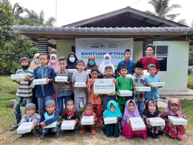 Rumah Yatim Kembali Hidangkan Sahur dan Buka Puasa untuk Yatim dan Dhuafa Pekanbaru