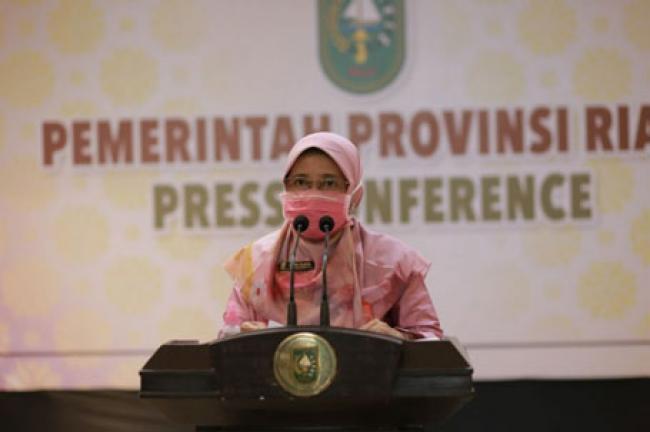 Hari Ini Bertambah 330 Kasus Baru, Kadiskes Riau Minta Warga Disiplin Patuhi Prokes Covid-19