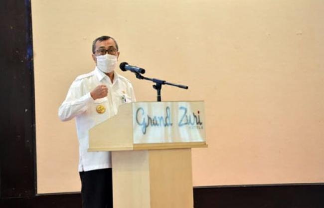 Pulihkan Ekonomi Akibat Pandemi, Gubri: Pemerintah Terus Berupaya Bangkitkan UMKM