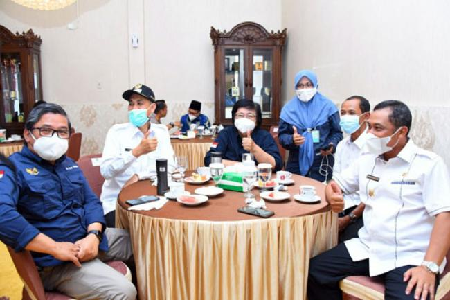 Sinergisitas Bengkalis Dumai Garap Pulau Ketam dan Pulau Payung Rupat