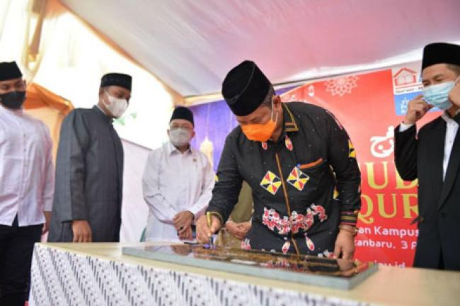 Asisten I Setdaprov Riau Resmikan Kampus 2 Ponpes Baitul Quran Riau