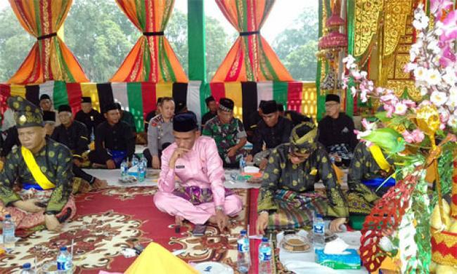 Sambut Ramadhan 1438 H, Masyarakat Langgam Gelar Adat Balimau Kasai Potang Mogang