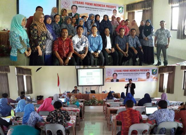 Litbang PARNA Indonesia Adakan Workshop Penulisan Penelitian dan Buku Ajar di SMAN 3 Batam