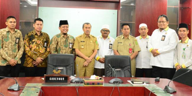 Gubri Ajak Masyarakat Dukung Gema Riau Berzakat