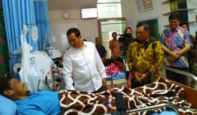 Sudah Ada Klinik Utama Ginjal di Pekanbaru, Wagubri: Tak Perlu Keluar Negeri