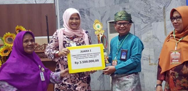 SMK Labor Pekanbaru Wakili Riau di Lomba Perpustakaan Tingkat Nasional