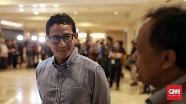 Sandiaga soal Pemuda Ancam Penggal Jokowi: Harus Jalur Hukum