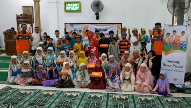 Rumah Zakat Salurkan Paket Ramadhan Berdaya