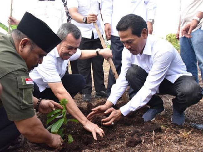 Gubri Terkesan Usaha Masyarakat Kelola Lahan Gambut di Kabupaten Bengkalis