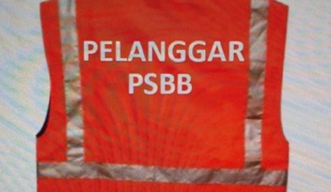 Begini Penampakan Rompi Khusus untuk Pelanggar PSBB Jakarta