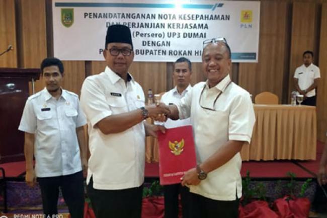 Bupati Suyatno: Tahun 2020 Rohil Terang Benderang Sampai Ke Pulau Jemur
