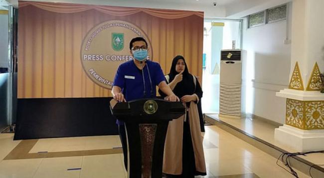Hebat, Empat Hari Ini Riau Nihil Penambahan Positif Covid-19