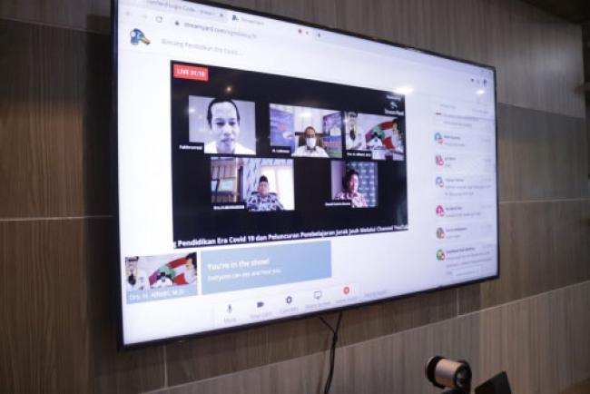 Belajar via Live Streaming, Disdik Siak Luncurkan Channel YouTube Siak Bedelau