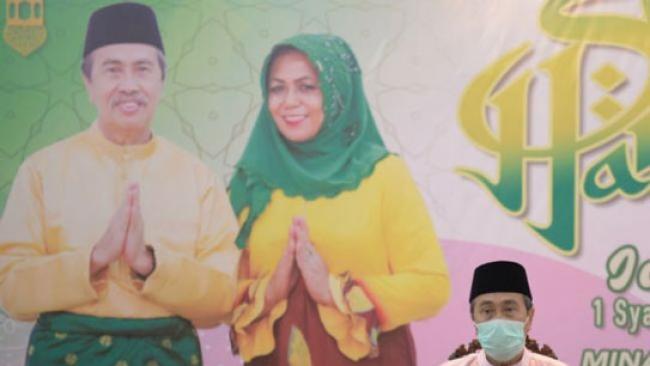 Hari Pertama Lebaran 1441 H, Syamsuar Ingatkan Masyarakat Riau Patuh PSBB