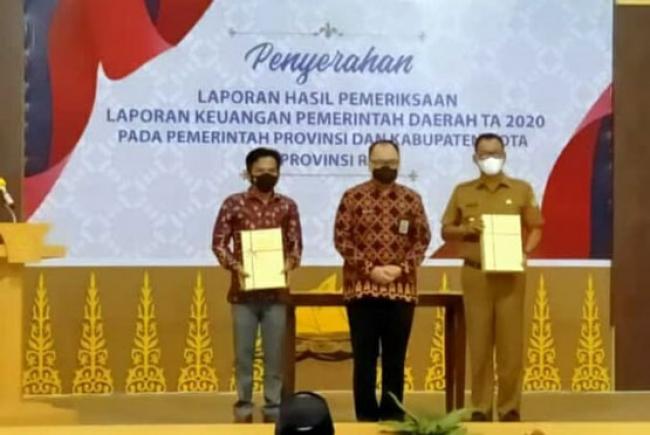 Dibawah Komando Bupati Suyatno, Rohil Kembali Raih WTP 2020 Untuk Ketiga Kalinya