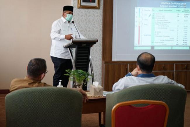 Bupati Siak Alfedri Tegaskan Larangan Salat Ied di Lapangan dan Masjid