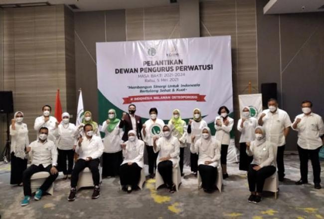 Bangun Sinergi untuk Indonesia Bertulang Sehat dan Kuat, Perwatusi Resmi Dilantik