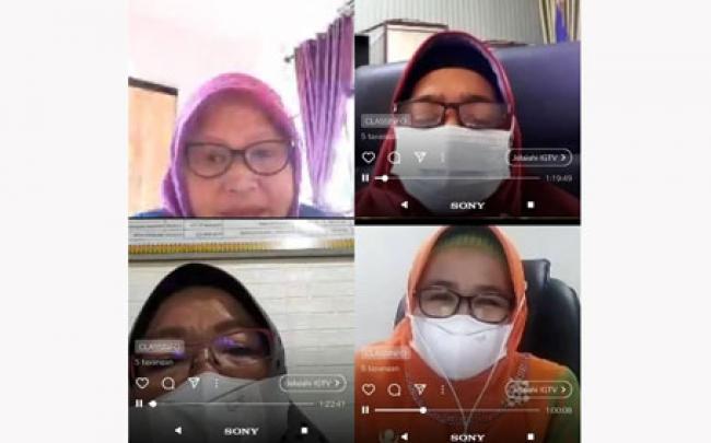 Sempena Hardiknas, Forum Kelas Kominfo Riau Gelar Talkshow Literasi Bersama BKKBN Secara Virtual