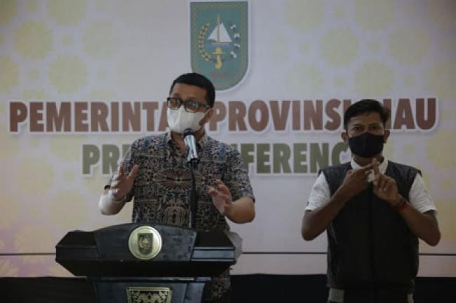 Masih Tinggi, Update Covid-19 Riau Bertambah 483 Kasus Baru