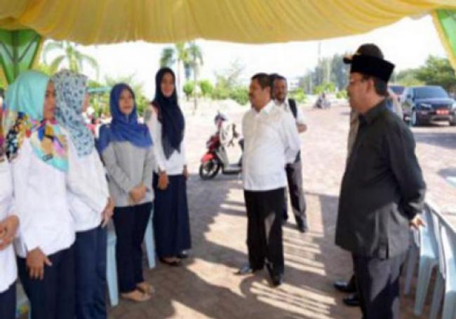 36 Petugas Diskes Bengkalis Siap Layani Masyarakat di 8 Posko Terpadu