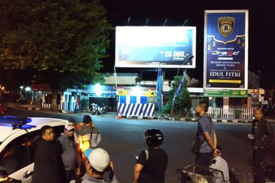 Ledakan Bom Bunuh Diri Guncang Pos Polisi Kartasura di Sukoharjo